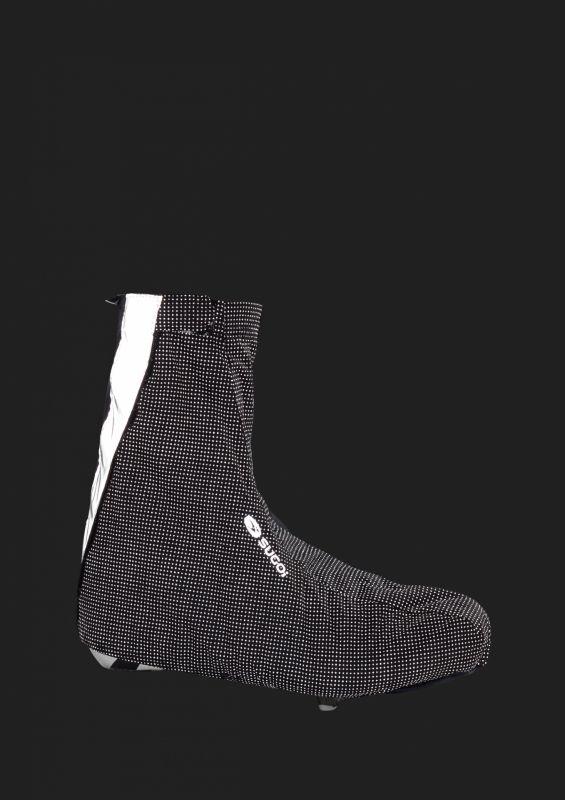 Couvre-chaussures Sugoi Zap Bootie Noir/Réfléchissant - 3