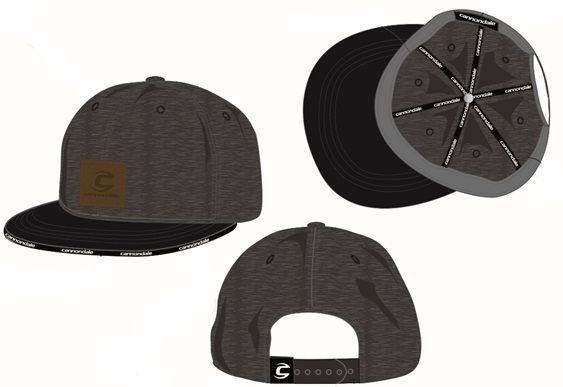 Casquette Cannondale Custom Cap Gris/Noir