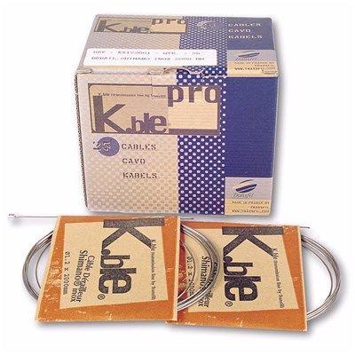 Câble de dérailleur K.Ble Pro 1,2 x 2000 inox (x25)