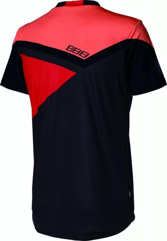 Maillot VTT BBB Gravity Noir/Orange/Rouge - BBW-315 - 1