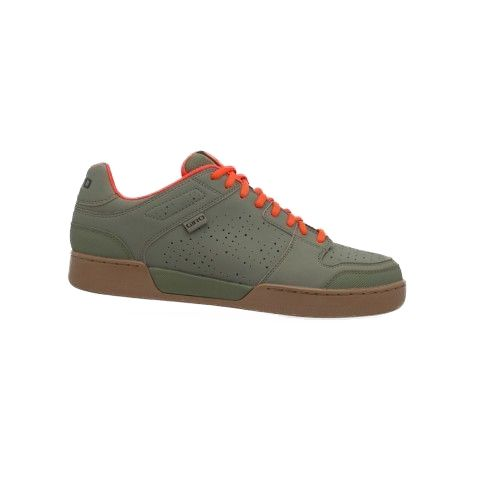 Chaussures VTT Giro Jacket Kaki/Rouge Orange/Gum