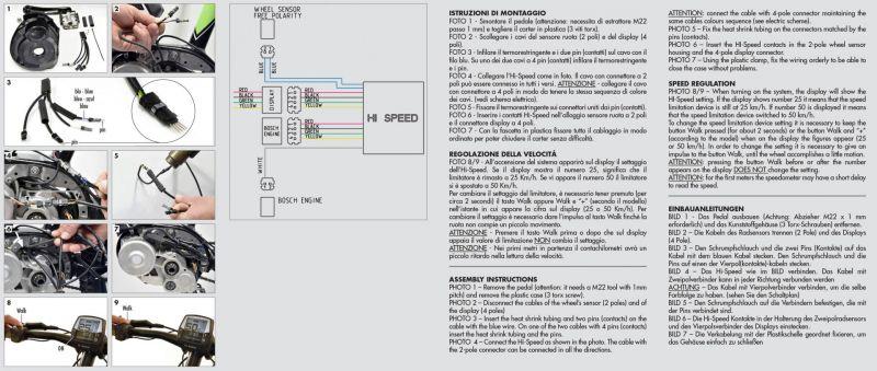 Boitier électronique Polini HI-SPEED V2 Bosch Active / Performance CX - 2
