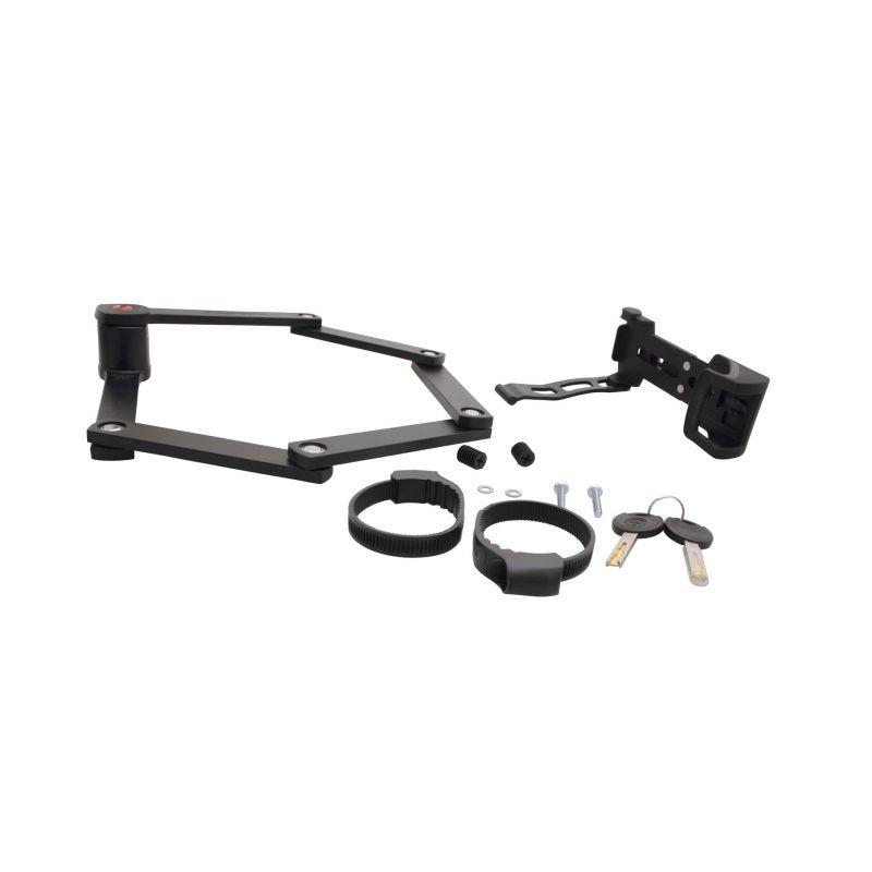 Antivol pliable Trelock Trigo FS 300/85 + support Noir - 3