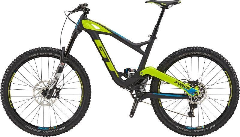 VTT tout suspendu GT Force Pro 27.5'' Carbon Noir/Jaune - 1