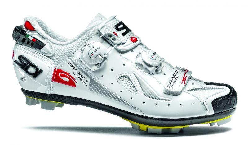 Chaussures Sidi MTB DRAGON 4 SRS Carb. Blanc