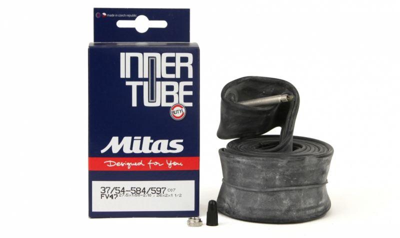 Chambre à air Mitas 28/29 x 1.50/2.10 Schrader 40 mm