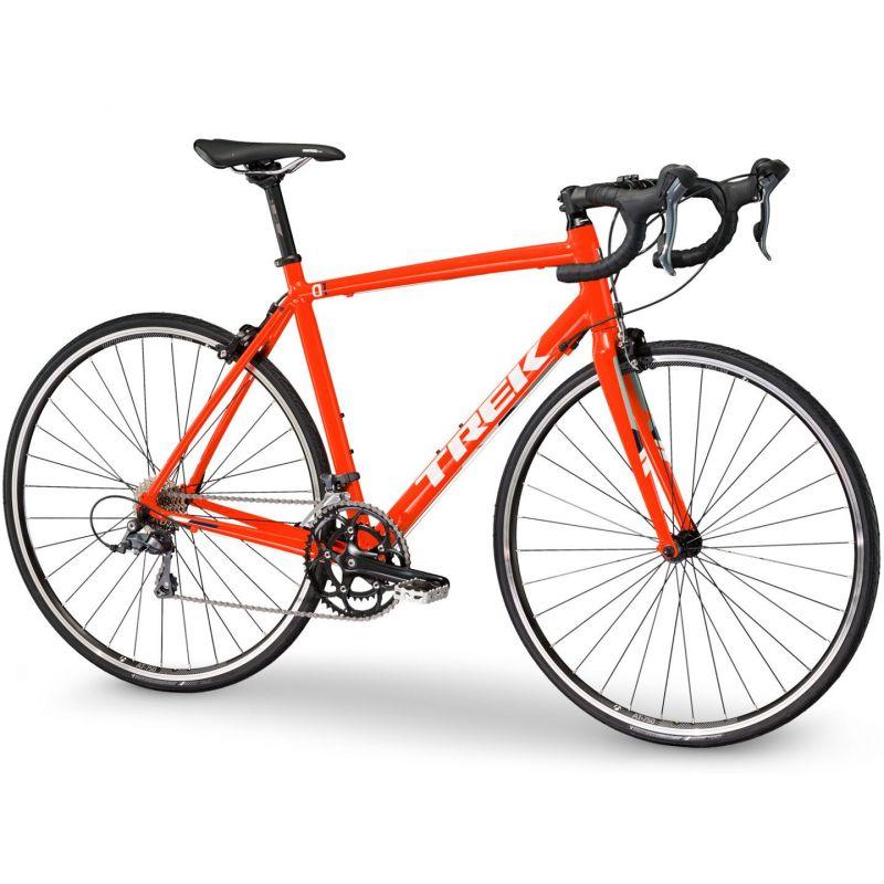 v lo de route trek 1 1 c h2 orange sur ultime bike. Black Bedroom Furniture Sets. Home Design Ideas