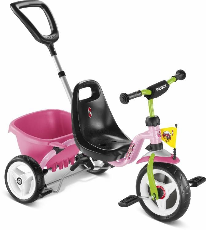 Tricycle Puky CAT 1S 2 ans Rose/Kiwi