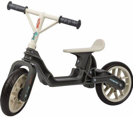 "Draisienne Polisport Balance Bike 12"" Gris/Crême"