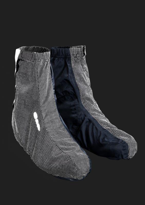 Couvre-chaussures Sugoi Zap Bootie Noir/Réfléchissant - 2