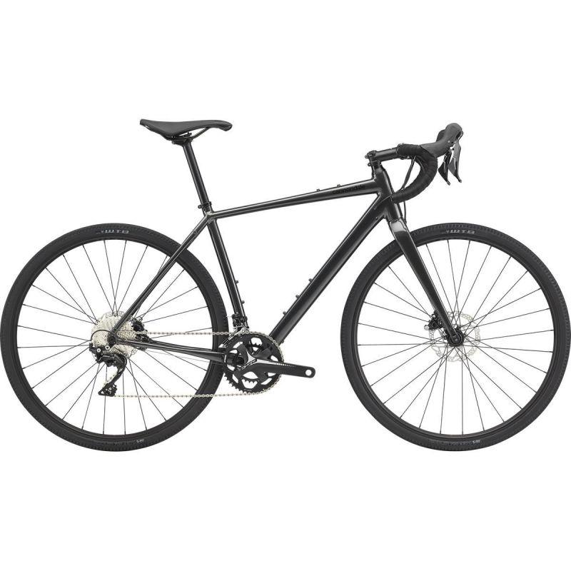 Vélo de Gravel Cannondale Topstone Shimano 105 Gris Graphite 2020