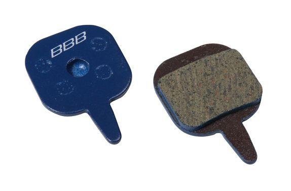 Plaquettes BBB comp. Tektro Io/Novela organiques - BBS-75