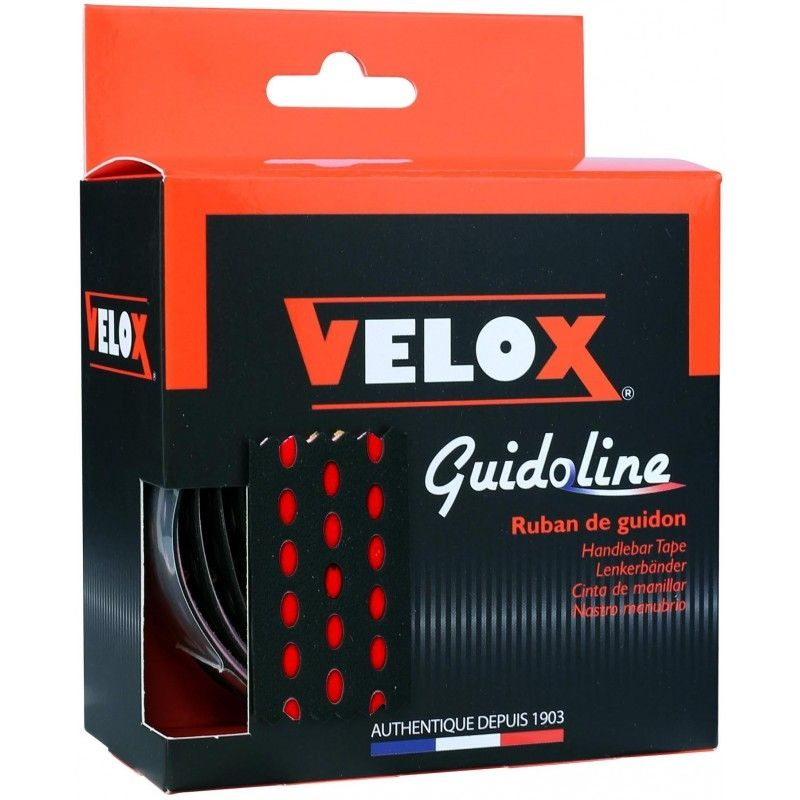 Guidoline VELOX Bi-Color 3.5 Noir/Rouge