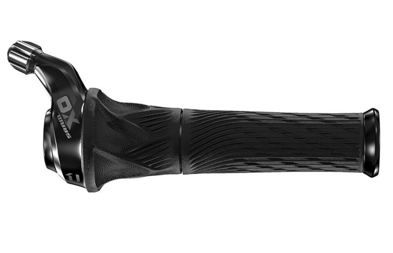 Poignée tournante SRAM X01 11V Droite Noir