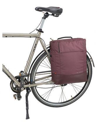 Sacoche latérale Vaude Cyclist Pack 17 L Noir - 2