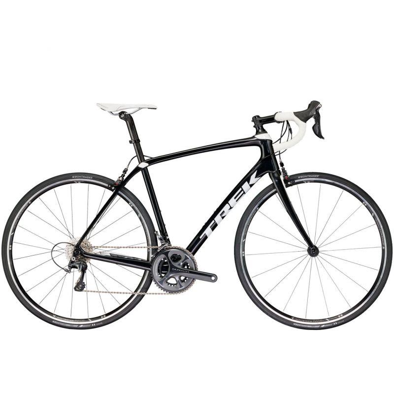 v lo route trek domane sl 6 noir blanc 2017 sur ultime bike. Black Bedroom Furniture Sets. Home Design Ideas