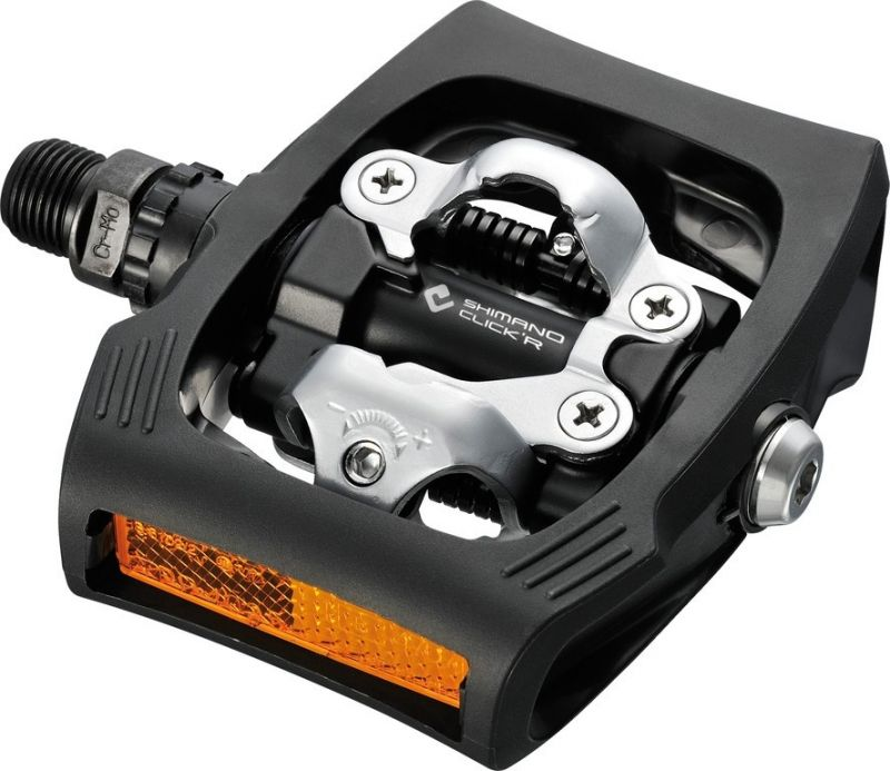 Pédales automatiques SPD Shimano Click`R PD-T 400 Noir