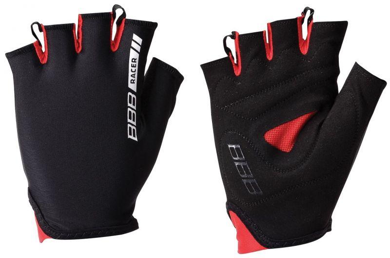 Gants d'été BBB Racer (noir/rouge) - BBW-44