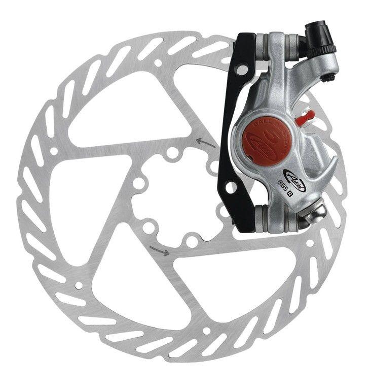 Frein à disque AV ou AR Avid BB5 route mécanique + disque 140 mm Platine - 1