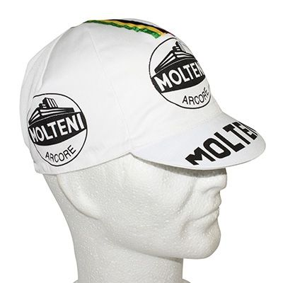 casquette equipe vintage molteni wolrd champion blanc. Black Bedroom Furniture Sets. Home Design Ideas