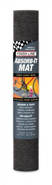 Tapis d'atelier Finish Line Absorb-It Mat - Small