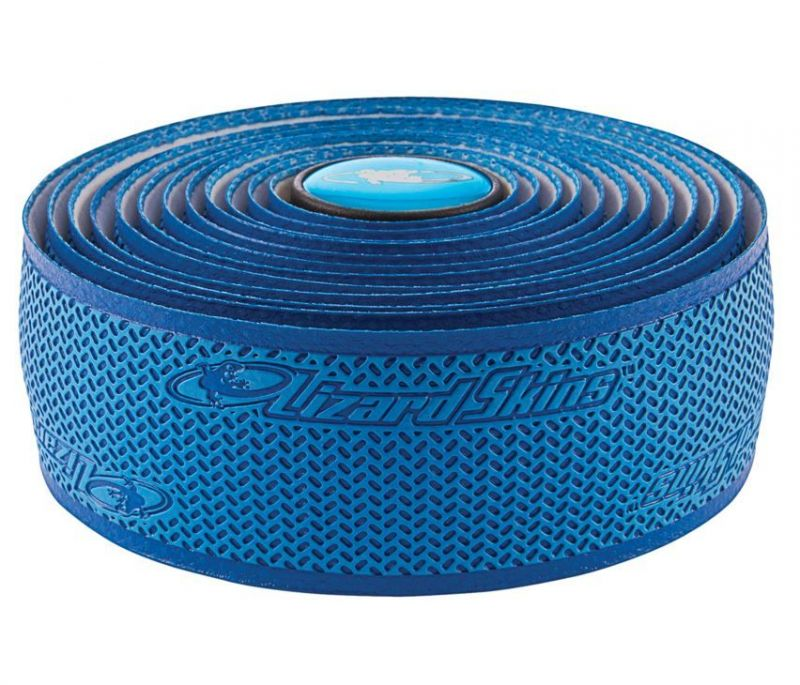 Ruban de cintre Lizard Skins DSP Bar Tape 2.5 Bleu cobalt