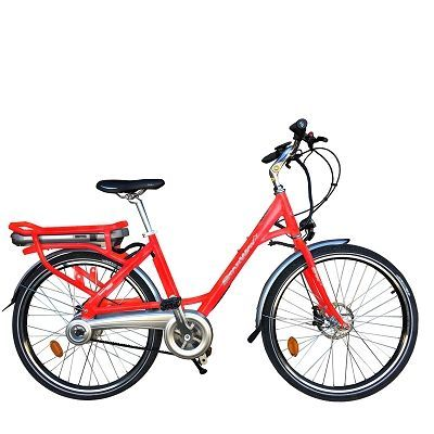 "Vélo électrique Starway Easy 26"" Rouge agrume"