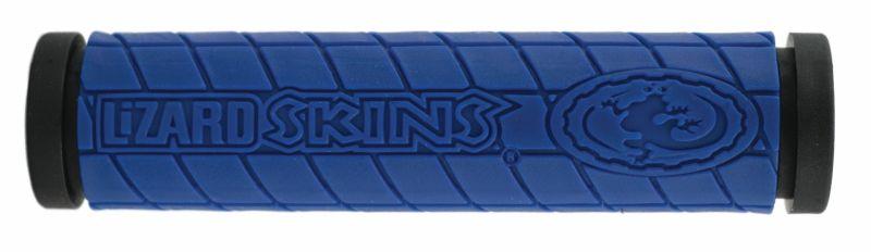 Poignées Lizard Skins Dual Compound Logo Bleu
