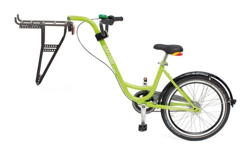 V lo suiveur roland add bike 20 3 vitesses porte bagages vert sur ultime bike - Porte bagage velo 20 pouces ...