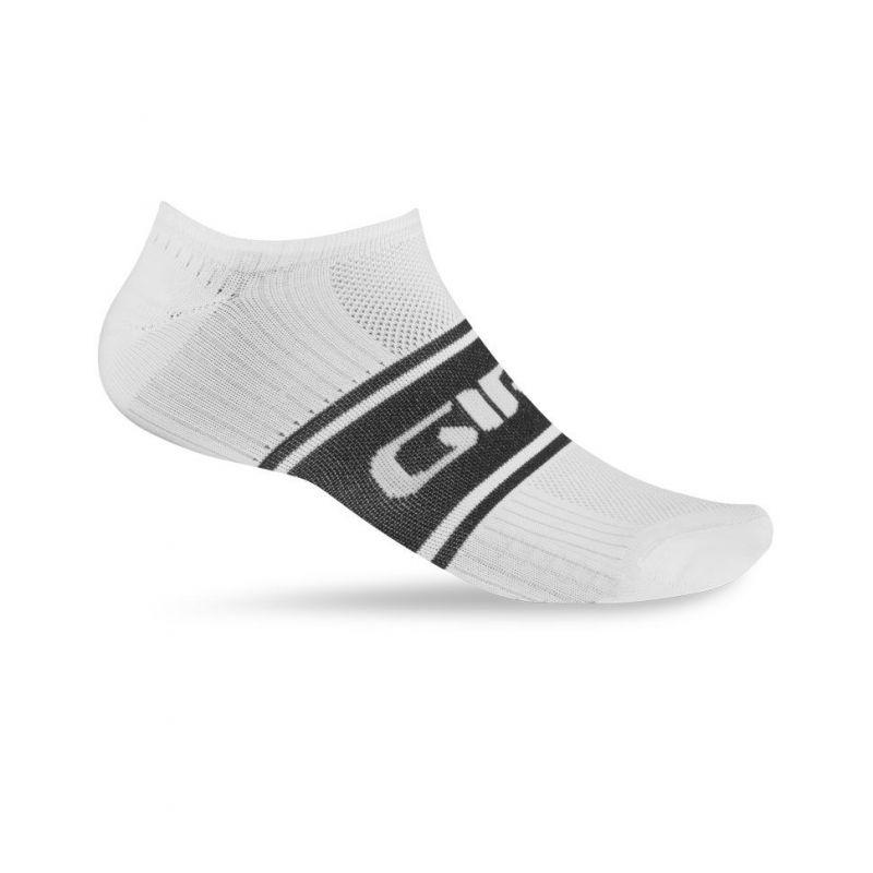 Chaussettes Giro COMP RACER LOW blanc/noir