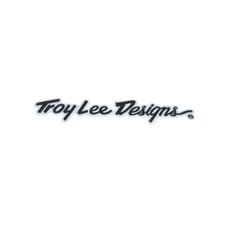 "Stickers Troy Lee Designs Signature Alu 10"" (10 pièces) - 2"