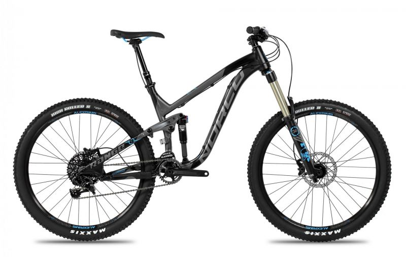 vtt tout suspendu norco range a7 1 noir gris bleu vendre sur ultime bike. Black Bedroom Furniture Sets. Home Design Ideas