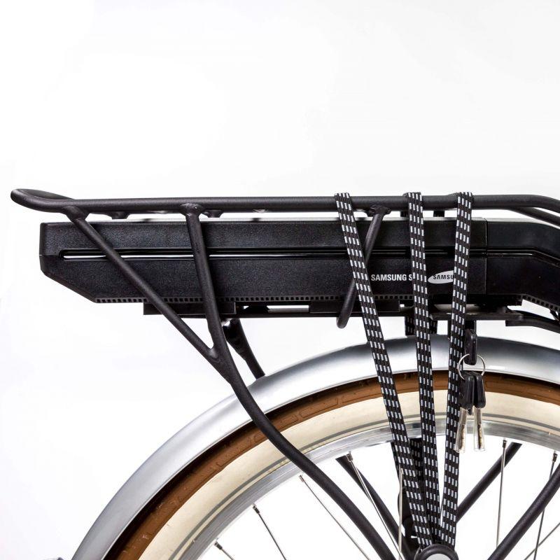 Vélo Cruiser électrique O2Feel Pop N7C 374 Wh Argent poli - 2