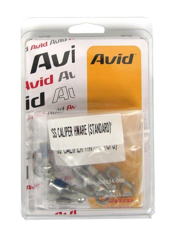 Set de vis pour étrier de frein à disque Avid/SRAM