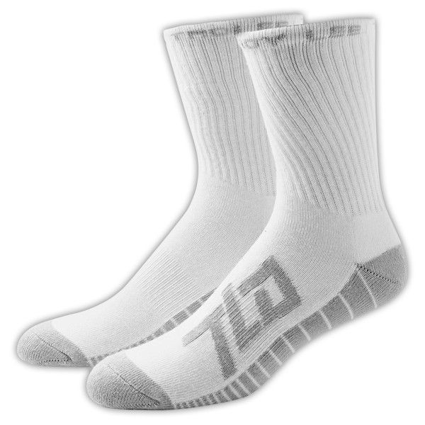 Chaussettes Troy Lee Designs Factory Crew Blanc