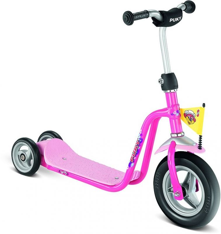 premi re trottinette 3 roues puky r 1 rose 2 ans sur ultime bike. Black Bedroom Furniture Sets. Home Design Ideas