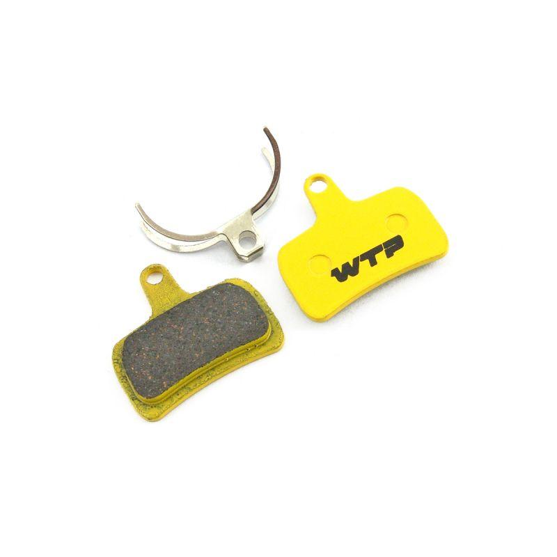 Plaquettes de frein vélo WTP compatibles Hope Mono Mini Organiques