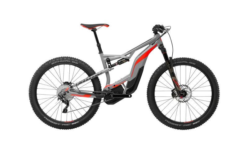vtt lectrique cannondale moterra 2 27 5 gris rouge sur ultime bike. Black Bedroom Furniture Sets. Home Design Ideas