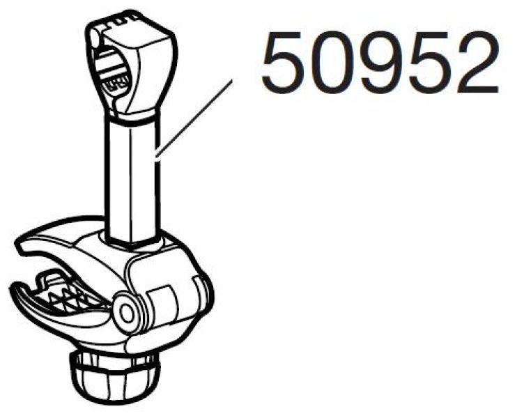 Bras de fixation court 1er vélo Thule EuroClassic 902/903/908/909 BackPac 973 - 1