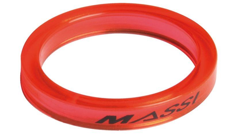 """Entretoises de direction Massi 1.1/8"""" 5 mm Rouge transparent (x4)"""