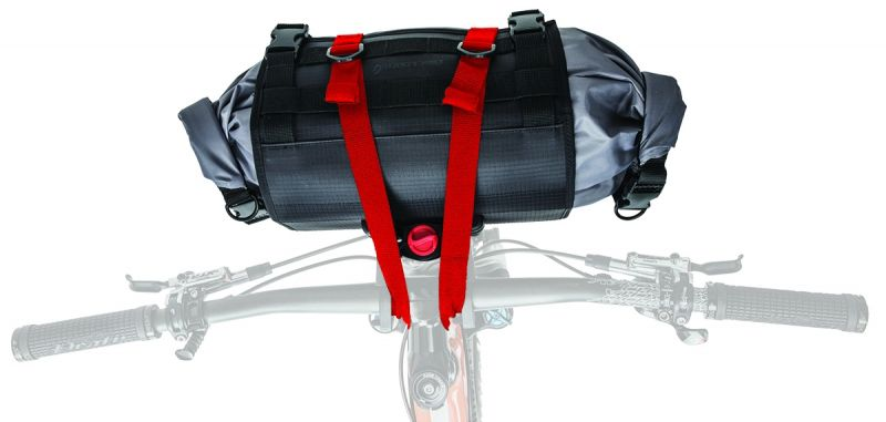 Sacoche de guidon bikepacking Blackburn Outpost HB Roll 10 L Noir
