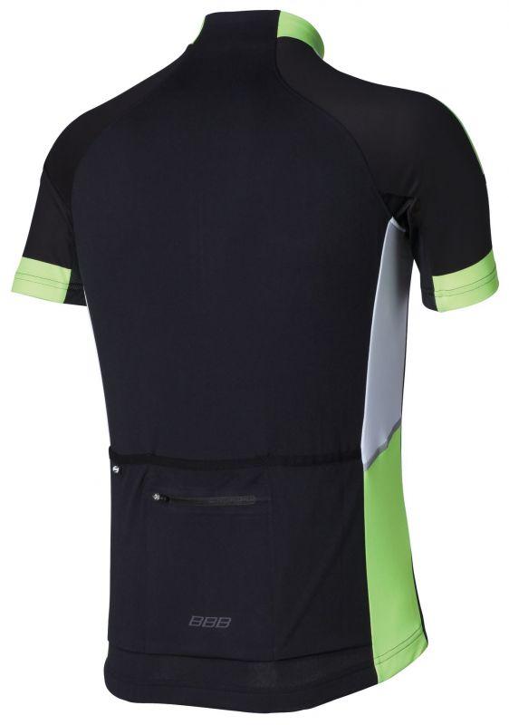 Maillot été BBB jersey ComfortFit (noir/jaune) - BBW-234 - 1