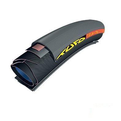 Boyau TUFO C S3 Lite 700 x 21 Noir (Pour jante pneu)