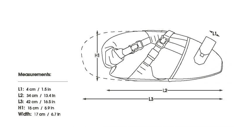 Sacoche de selle Apidura BackCountry Compact 11 L - 6