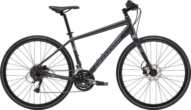 Vélo fitness Cannondale Quick Disc 4 Noir Graphite/Argent