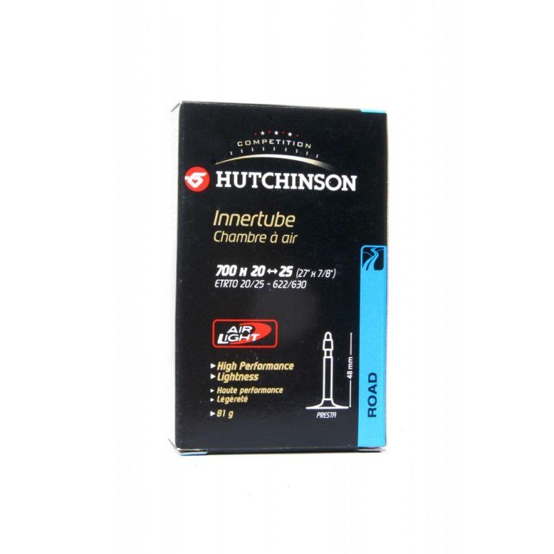 Chambre à air Hutchinson Air Light 700 x 20/25C Presta 48 mm