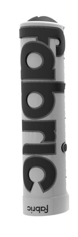 Poignées Fabric XL Grips Lock-on Blanc/Noir