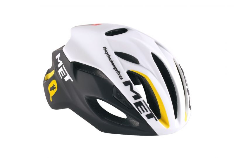 casque met rivale mtn qhubeka limited edition vendre sur ultime bike. Black Bedroom Furniture Sets. Home Design Ideas
