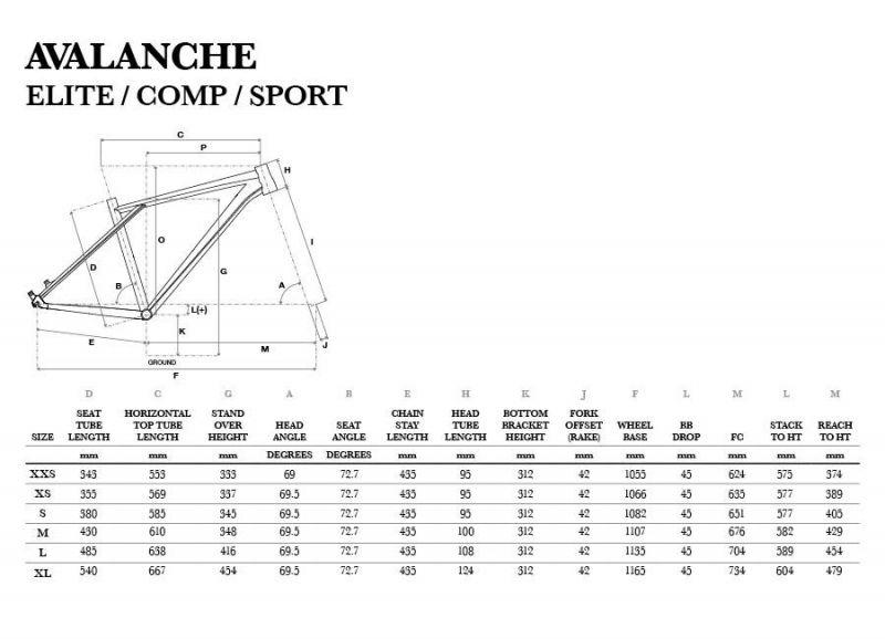 VTT GT Avalanche Comp Rouge/Noir - 3
