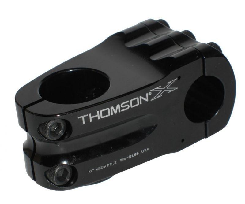 "Potence Thomson Elite BMX 1-1/8"" x 0° x 50 x 22,2 mm Noir"